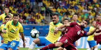 Brasil igualo 0-0 ante Venezuela