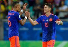 Colombia buscará sellar hoy su clasificación a cuartos de final cuando enfrente a Qatar