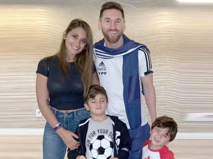 Lionel Messi, cumplió ayer 32 años y, recibió un permiso especial para pasarlo en familia