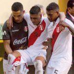 Paolo Hurtado se lesionó al intentar hacer un regate