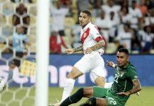 Perú gano 1-3 a Bolivia