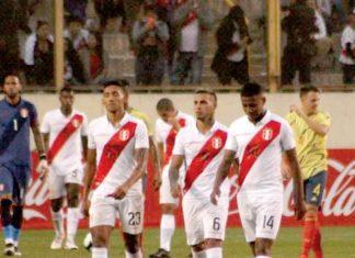 Perú fue goleado 0-3 ante Colombia en amistoso
