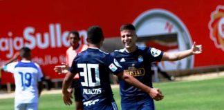 Sporting Cristal se impuso 2-0 a un humilde Alianza Atlético