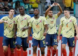 Colombia Superó 1-0 a Paraguay