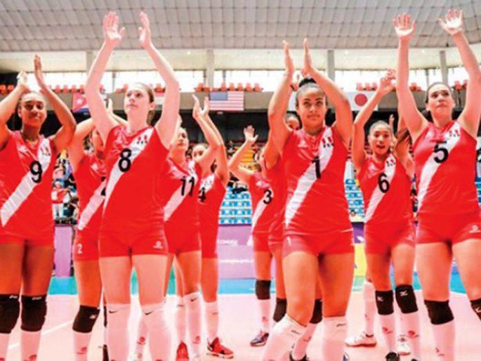 Selección peruana Sub-20 de voley femenino