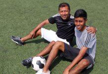 Roberto Palacios y Brandon Palacios