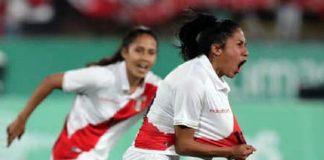 Selección peruana femenina de fútbol