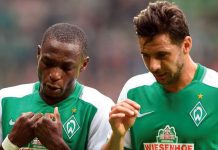 Anthony Ujah y Claudio Pizarro