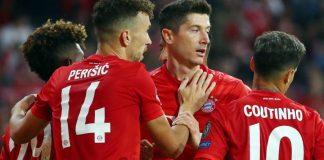 Bayern Munich no tuvo problemas para golear 3-0 a Estrella Roja de Belgrado