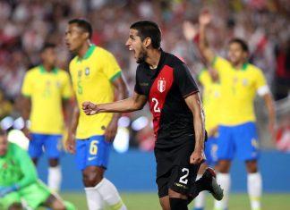 Selección peruana le ganó 1-0 a Brasil en amistoso en Los Ángeles