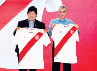 nueva camiseta selección peruana