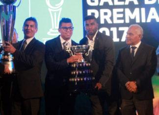 premiación de los mejores del Campeonato Descentralizado 2017