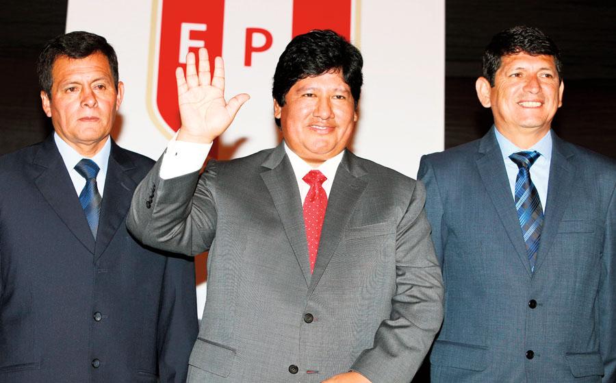 EDWIN OVIEDO, PRESIDENTE DE LA FEDERACION PERUANA DE FUTBOL