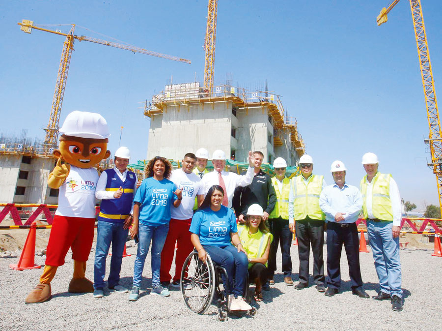 PPK en las obras de la Villa Panamericana para los Juegos Panamericanos