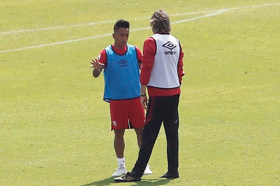 El técnico de la bicolor espera que 'Aladino' vuelva a lo mejor de su fútbol