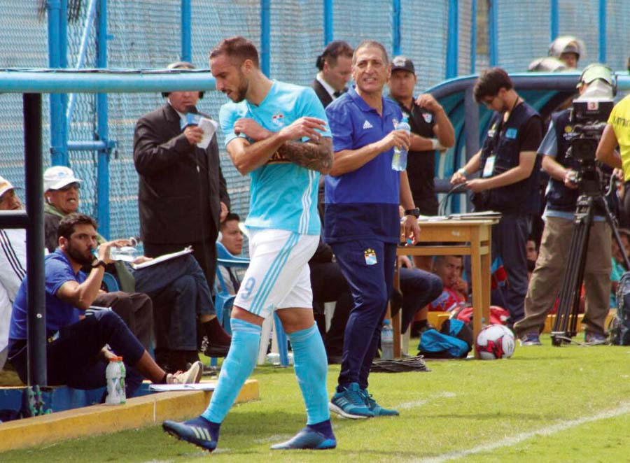 Emanuel Herrera de Sporting Cristal