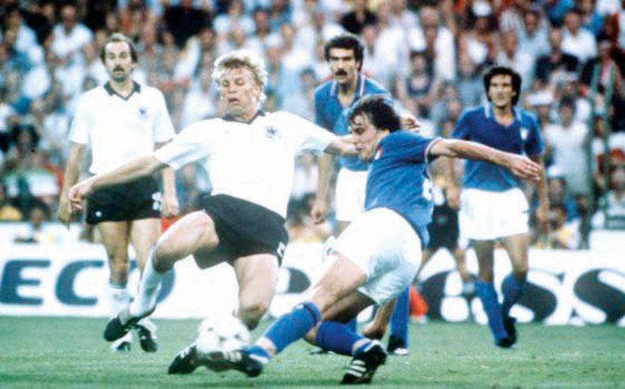 En semifinales los 'tanos' se impusieron a la fuerza teutona