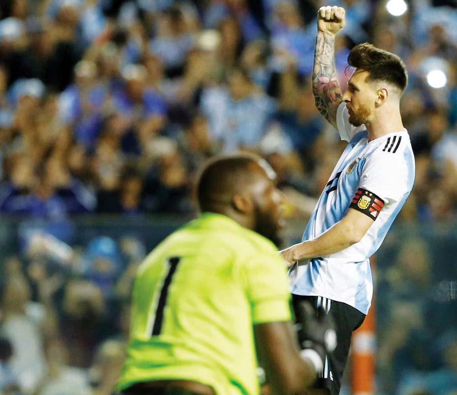 Leo Messi, Argentina-Haiti, amistoso