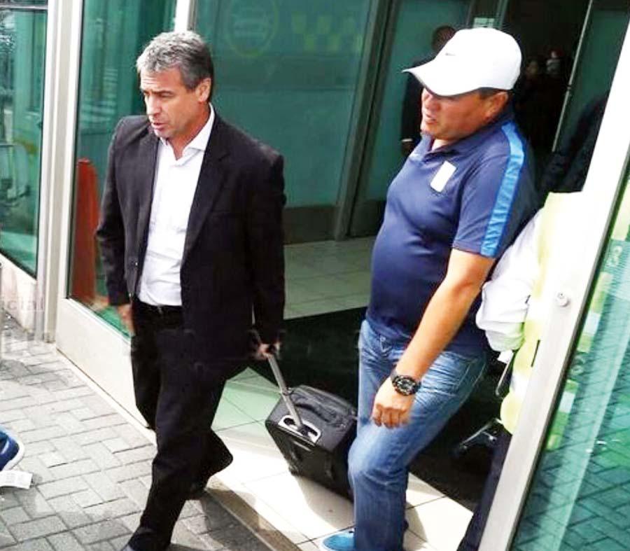 Llegada de Alianza Lima de su participación en la Copa Libertadores de América