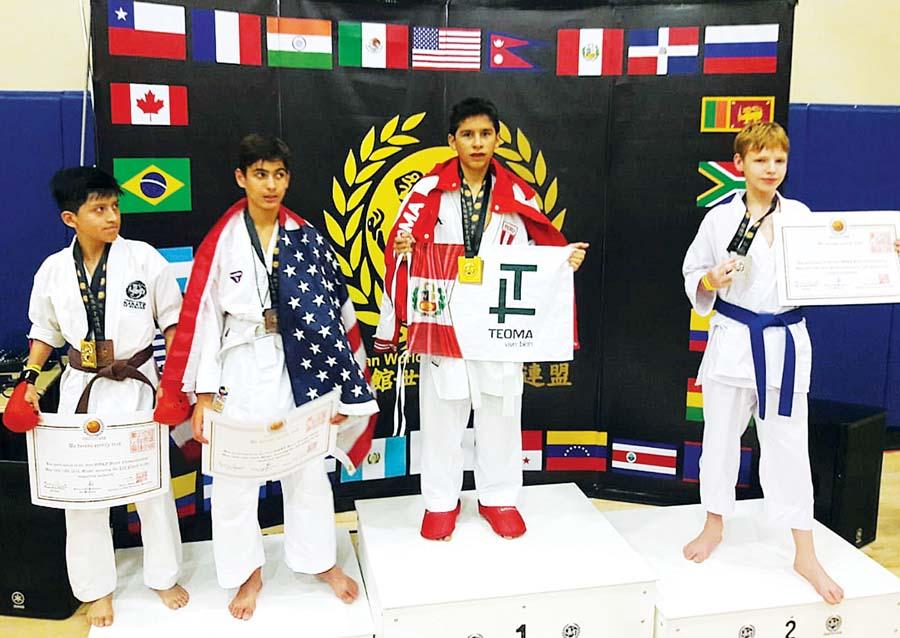 Lucas Beltrán de tan solo 12 años logró medalla de oro