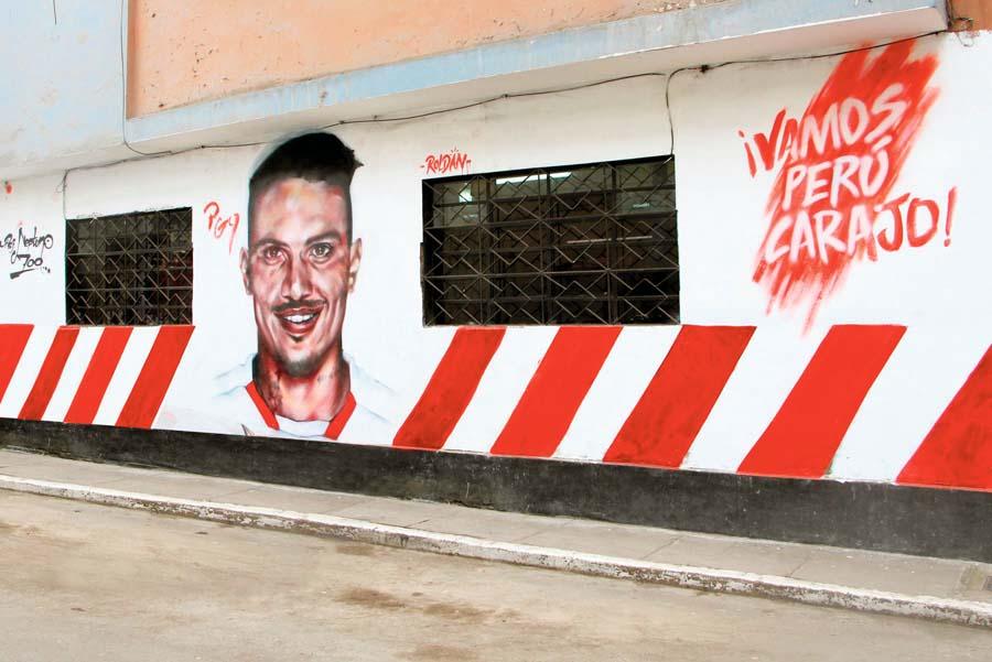 Mural Paolo Guerrero