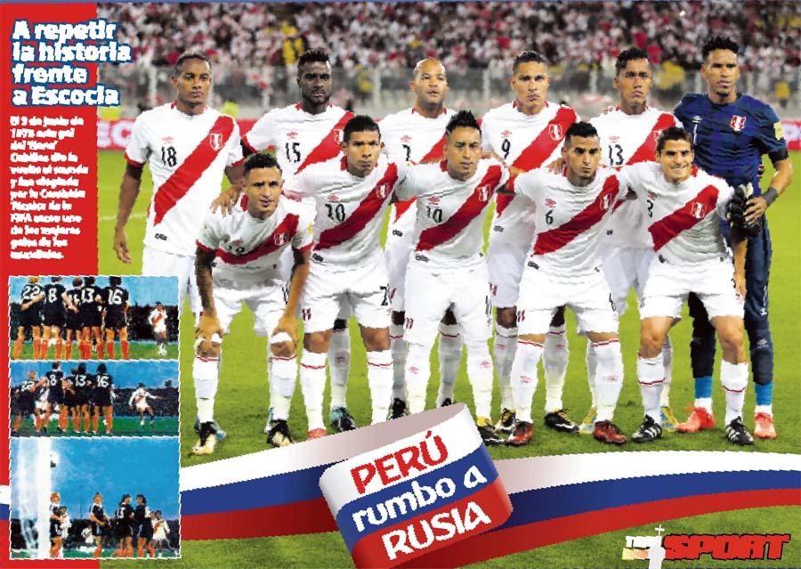 Perú rumbo a Rusia
