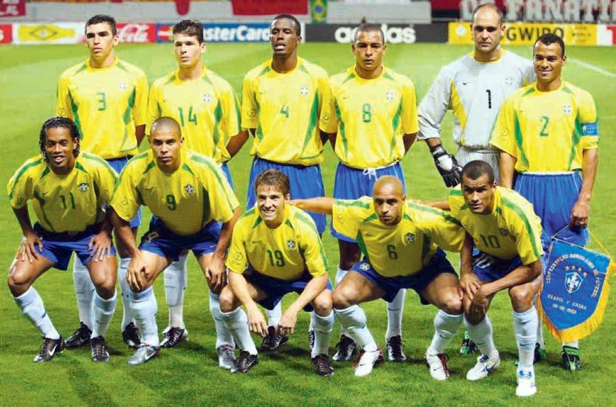Seleccion brasileña Mundial Corea-Japon 2002