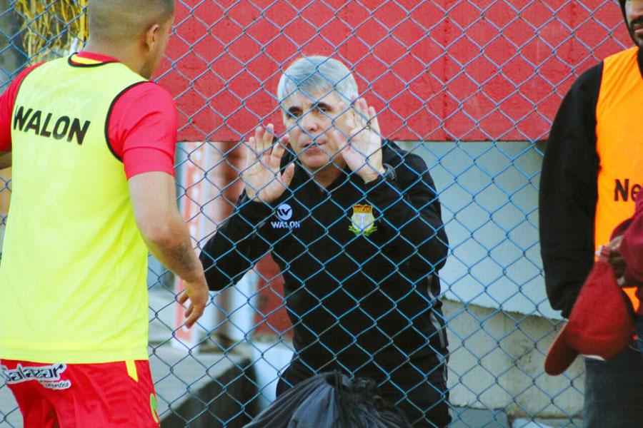 Técnico de Sport Huancayo Marcelo Grioni