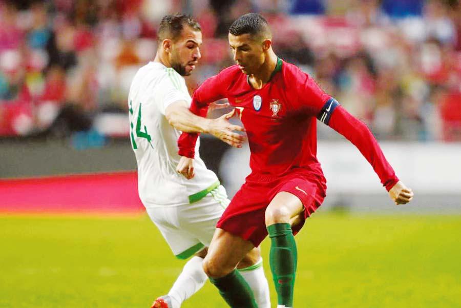 A Cristiano Ronaldo solo le faltó concretar en el arco rival