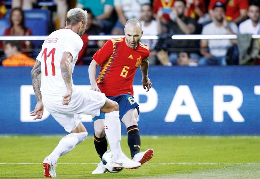 España vs Suiza (Amistoso)