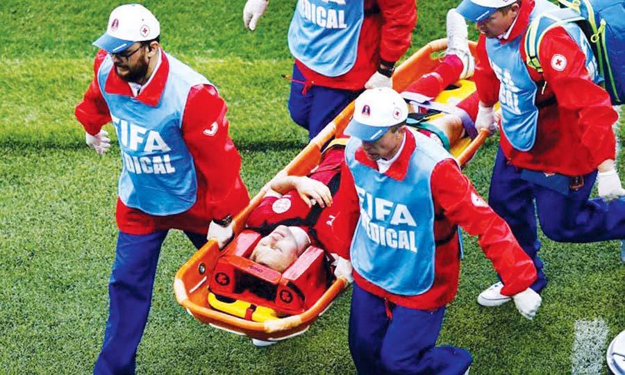 Jugador danés Kvist se lesiona y deja Rusia 2018