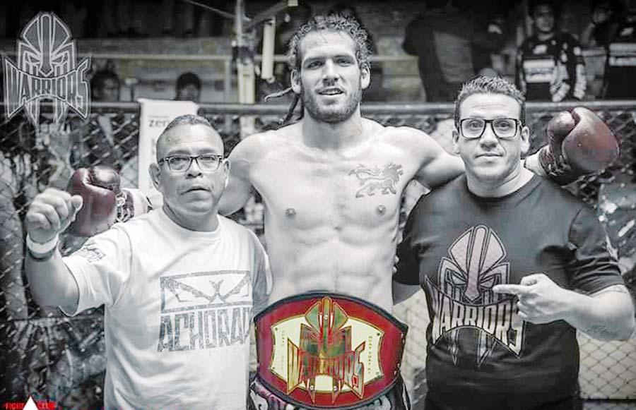 Matteo Celi por el título en Muay thai