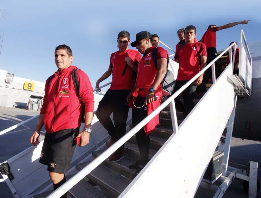 Selección peruana llegó a Gotemburgo