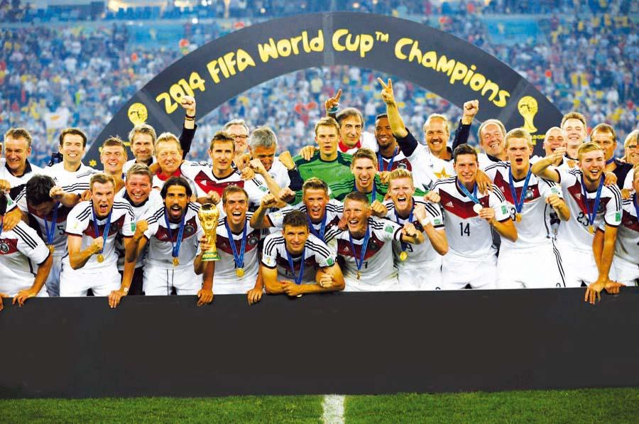 Seleccion alemana - Brasil 2014