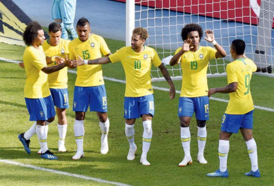 Seleccion brasileña