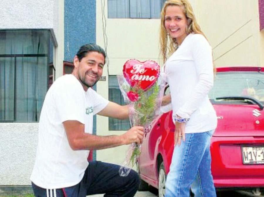 'Checho' Ibarra, en diciembre de este año cumple 25 años de casado