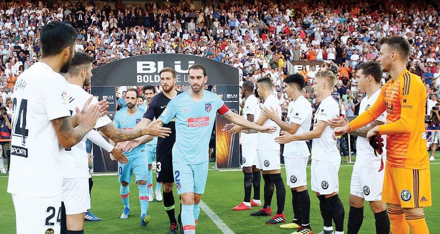 Atlético de Madrid empat0 1-1 ante el Valencia