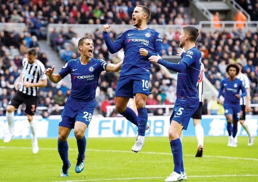 Chelsea venció de visita al Newcastle 2-1
