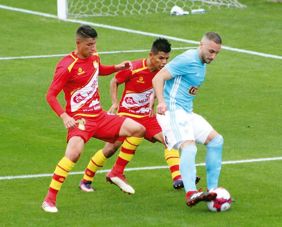 El goleador Herrera en esta oportunidad estuvo bien controlado y se falló un par de ocasiones