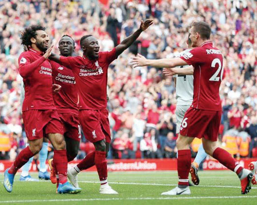 Liverpool aplastó 4-0 al West Ham