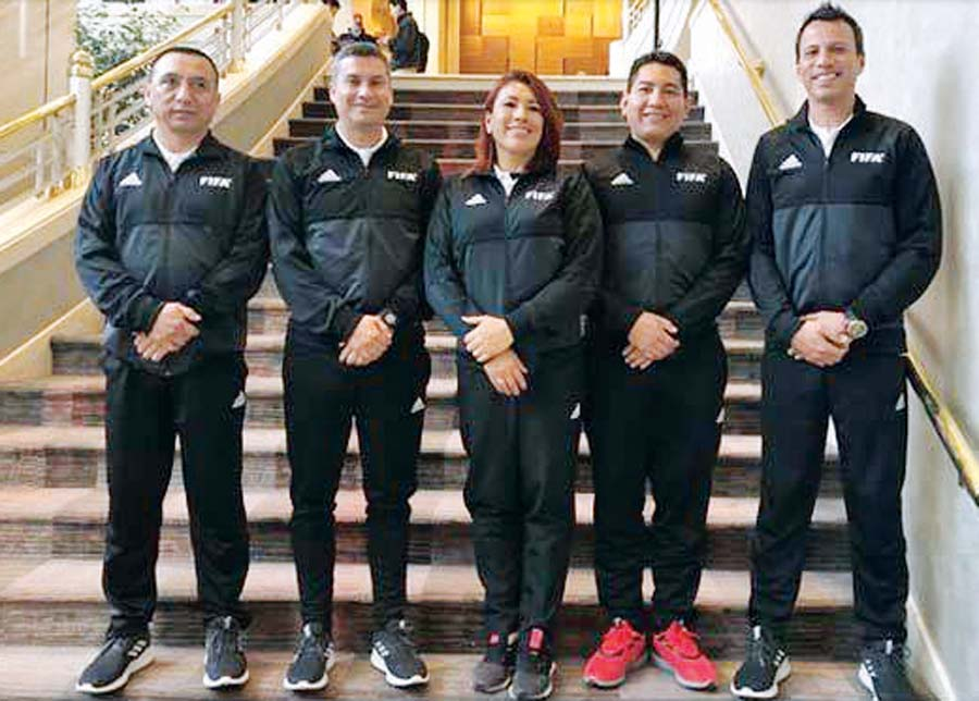 Miguel Santibáñez, Henry Gambetta, Silvia Reyes