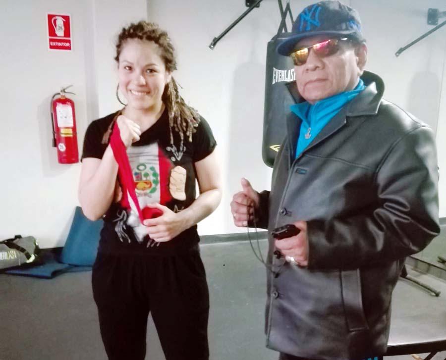 Pugilista peruana, Linda Lecca