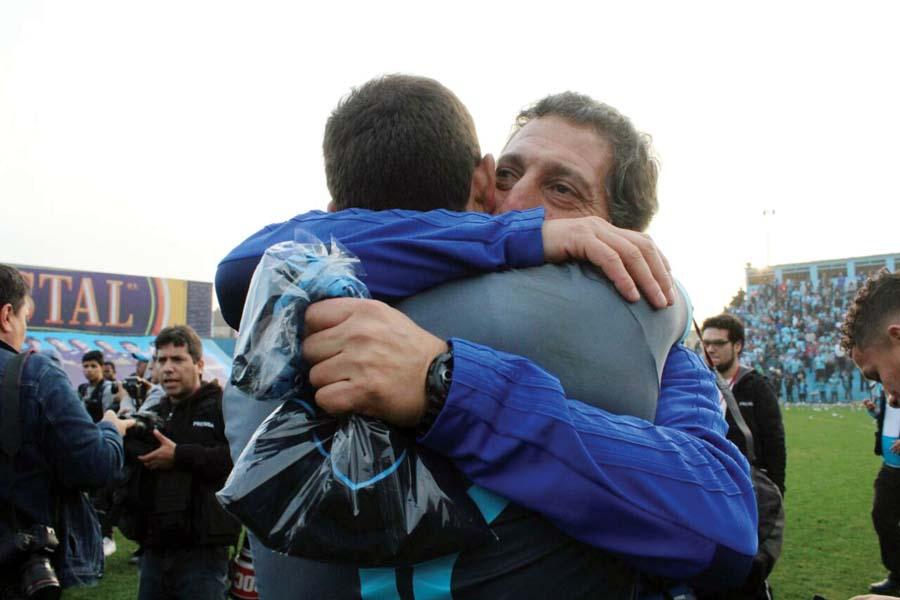 Técnico de Sporting Cristal, Mario Salas