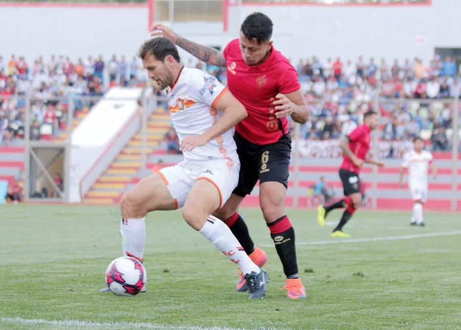Arequipeños igualaron de visita 0-0 ante Ayacucho FC
