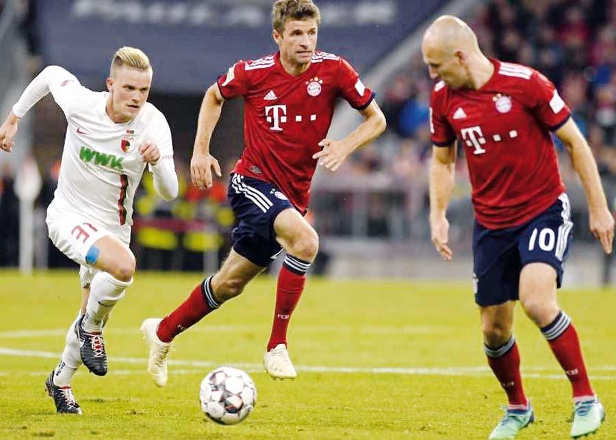 Bayern Múnich empato 1-1 ante el Augsburgo