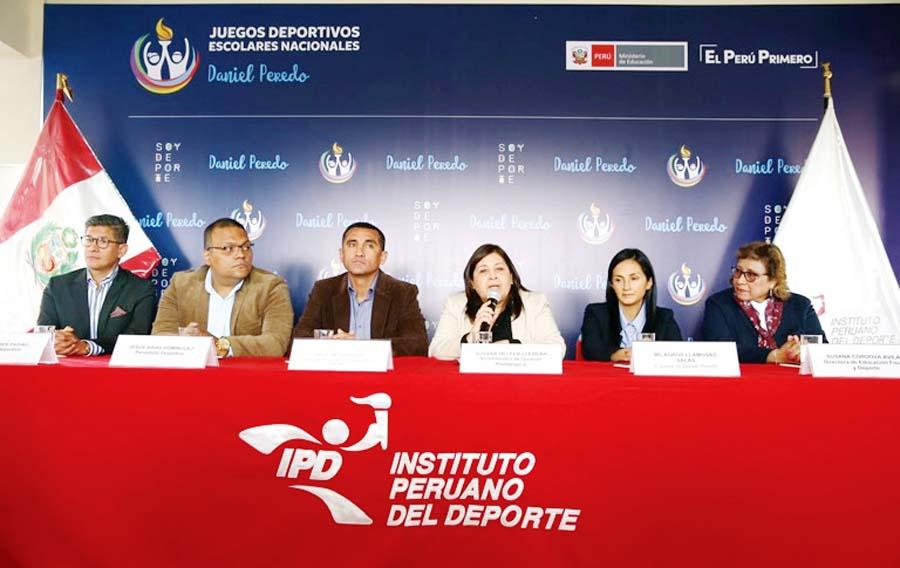 """Juegos Deportivos Escolares Nacionales 2018 """"Daniel Peredo"""""""
