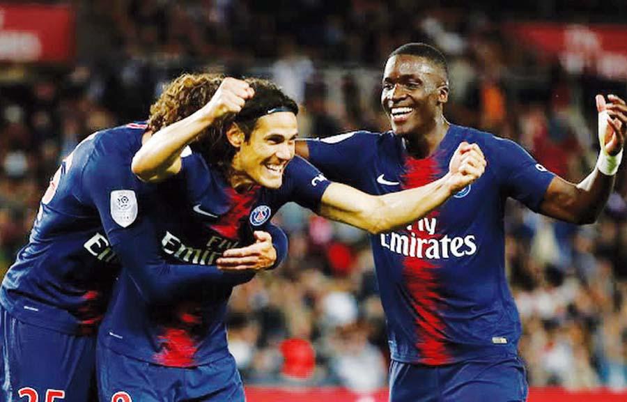 PSG goleó 4-1 al Stade Reims