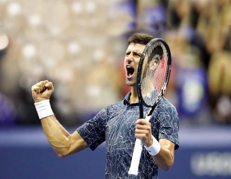 Tenista serbio Novak Djokovic