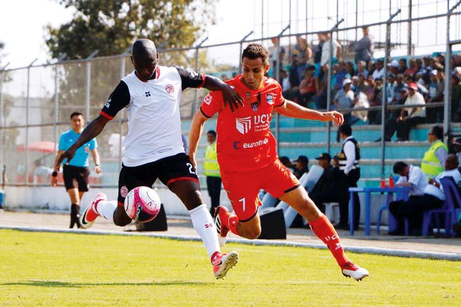 Universidad César Vallejo cayó 3-1 ante Juan Aurich