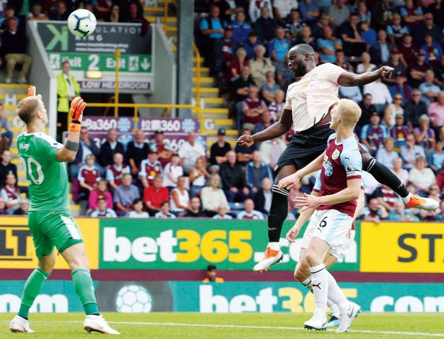 victoria del Manchester United por 0-2 frente al Burnley